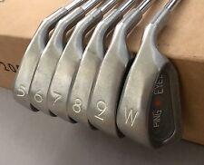 Ping Orange Dot Eye 2 Irons 5-PW ZZ Lite Stiff Flex Steel Golf Club