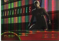 The Flash Season 1 Foil Parallel Base Card #67 Help From His Super Friends