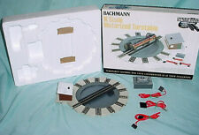 BACHMANN #46799 N SCALE MOTORIZED TURNTABLE Roundabout Turnabout Train Engine
