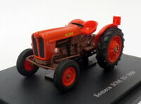 Hachette 1/43 Scale Model Tractor HT001 - 1960 Someca SOM 35 - Orange