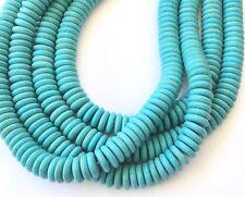 Fine Turquoise Rondelle Gemstone beads Stone Gemstone Beads