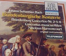 BACH Tape Cassette BRANDENBURG CONCERTOS 2,5,6 - DAS ALTE WERK Germany 4.41192CQ