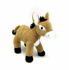 """Standing Baby Brown Donkey 7"""" by Unipak"""