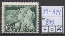 Deutsches Reich, Michel Nr. 843 (Verpflichtung) tadellos postfrisch.