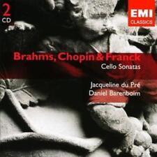 Daniel Barenboim - Brahms Chopin & Franck Cello Sonatas Ean0724358623321