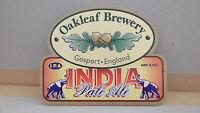 Oakleaf Brewery India Pale Ale Beer Pump Clip 38