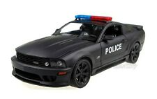 Welly Ford Mustang S281 Police Scale 1/18 Black Diecast Car Model V510