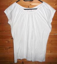 weißes Damen T-shirt Carmenschnitt Gr.46-neuwertig Baumwolle,Stretch von NKD