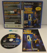 Console Game SONY Playstation 2 PS2 PAL ITA - THE OPERATIVE NO ONE LIVES FOREVER