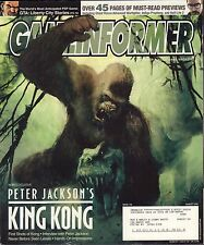 Gameinformer August 2005 King Kong, GTA: Liberty City Stories w/ML VG 081016DBE