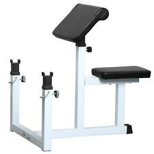 Arm Curl Weight Bench Seated Commercial Preacher Dumbbell Biceps Home Gym NEW
