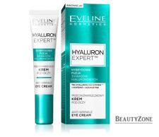 EVELINE HYALURON EXPERT TRI-HYALURON 24H SYSTEM ANTI-WRINKLE EYE CREAM 15 ml