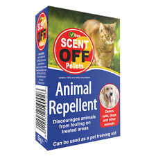Vitax Scent off Pellets Animal Repellent Deterrent Stops Cats Dogs Fouling 55g