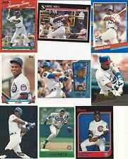 1990 90 Donruss Sammy Sosa RC Chicago Cubs White Sox Lot Dominican Republic