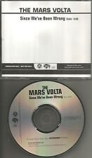 At the Drive In MARS VOLTA Since we've been Wrong RARE EDIT PROMO DJ CD single