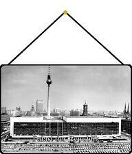 Palast der Republik Blechschild Schild mit Kordel Tin Sign 20 x 30 cm FS1118-K