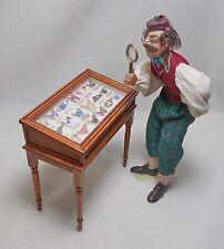 Dolls house Miniature Handmade Butterfly Display.