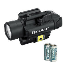 Olight PL-2RL Baldr White LED + Red Laser Handgun Weaponlight w/ 2x Batteries