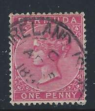 "BERMUDA    SC19   SG 24   USED. .AT ""IRELAND ISLAND""   AP 5 1899"