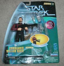 Star Trek TNG - Warp Factor Series 1 - Commander Riker Figure - Playmates Toys