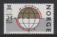 Norway - 1988, 25k Globe stamp - MNH - SG 1042