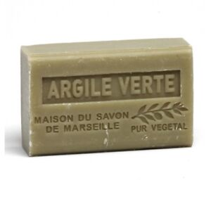 Shea Butter French soap with Green Clay