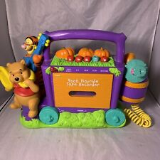 Vintage Pooh Hayride Tape Recorder/Player Storyteller Friends Tigger Piglet Mic