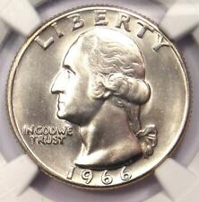 1966 Washington Quarter 25C - NGC MS68 - Rare in MS68 - Top Pop - $5,750 Value!