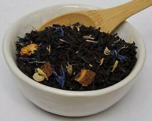 Earl Grey Creme Loose Leaf Tea Bergamot Cornflower Orange Vanilla London Fog