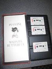 Puccini Madama Butterfly Tape Cassettes and Program B7