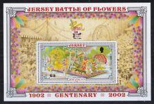 Jersey 2002 postfrisch Block MiNr. 33 100 Jahre Blumenfestival Battle of Flower
