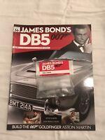 JAMES BOND 007 - ASTON MARTIN DB5 - 1:8 SCALE BUILD - GOLDFINGER - CAR PART 36