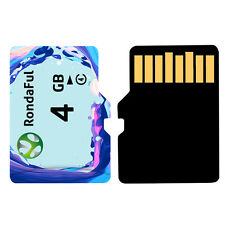 Rondaful 4gb Ultra Micro TF Flash High Speed Memory Card for Camera Mobile Phone