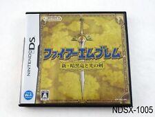 Fire Emblem Shadow Dragon Nintendo DS Japanese Import JP Ankoku Ryuu.. US Seller
