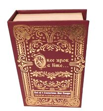 Holiday Scented Bar Soap Gift Set Once Upon A Time Volume IV Red Book 4.8 oz NIB