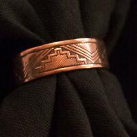 Wheeler Manufacturing Company Southwestern Design Copper Ring CR062 USA
