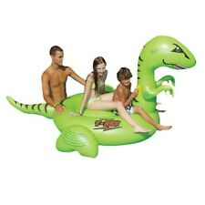 Swimline 90624 Swimming Pool Giant Ride On Dinosaur (T-Rex) Inflatable Float Toy
