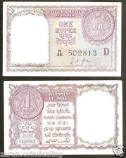1 Rupee L.K. Jha (D inset) ( 1957) @ Uncirculated Condition ( A-12 )