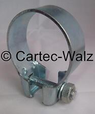 1 Stück Auspuffschelle Breitbandschelle Rohrverbinder Abgasanlage Ø 54 mm