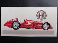 No.41 ALFA ROMEO TYPE 158A RACING History of the Motor Car by Brooke Bond 1968