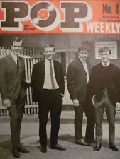 POP WEEKLY MAGAZINE NO 4 1963 - BEATLES - DUSTY SPRINGFIELD