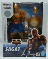 Street Fighter V SAGAT S.H. Figuarts action figure Tamashii Bandai