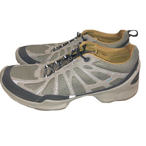 Ecco Biom Performance Train Brown Mesh Sneakers Running Shoes Size 44, 11 US