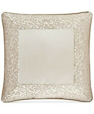 J. Queen New York La Scala 18-Inch Square Throw Pillow in Gold