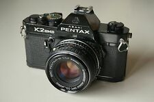 Pentax K2 DMD rare! with SMC Pentax-M 50mm f1.7 lens Pentax K2DMD