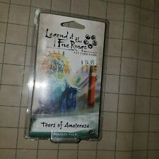 Tears of Amaterasu Dynasty Pack Legend of the Five Rings Card Game New