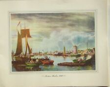 Boston Harbor, 1840 William J. Bennett Aquatint Provident Mutual 1939