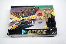 F-Zero (Super Nintendo, Snes) Brand New Sealed w/Hang-Tab & H-Seam