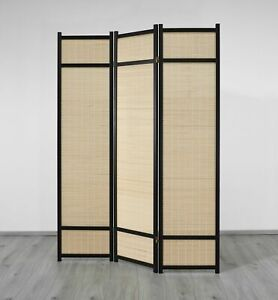 Paravent 808 Choko Style 3 dekorativer Holz Raumteiler