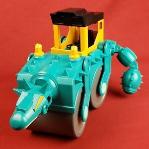Spike Ankylosaurus Steam Roller Dinosaur Tractor Dino Construction Company